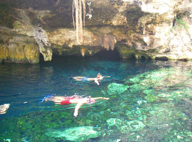 Gran cenote - Mexiko