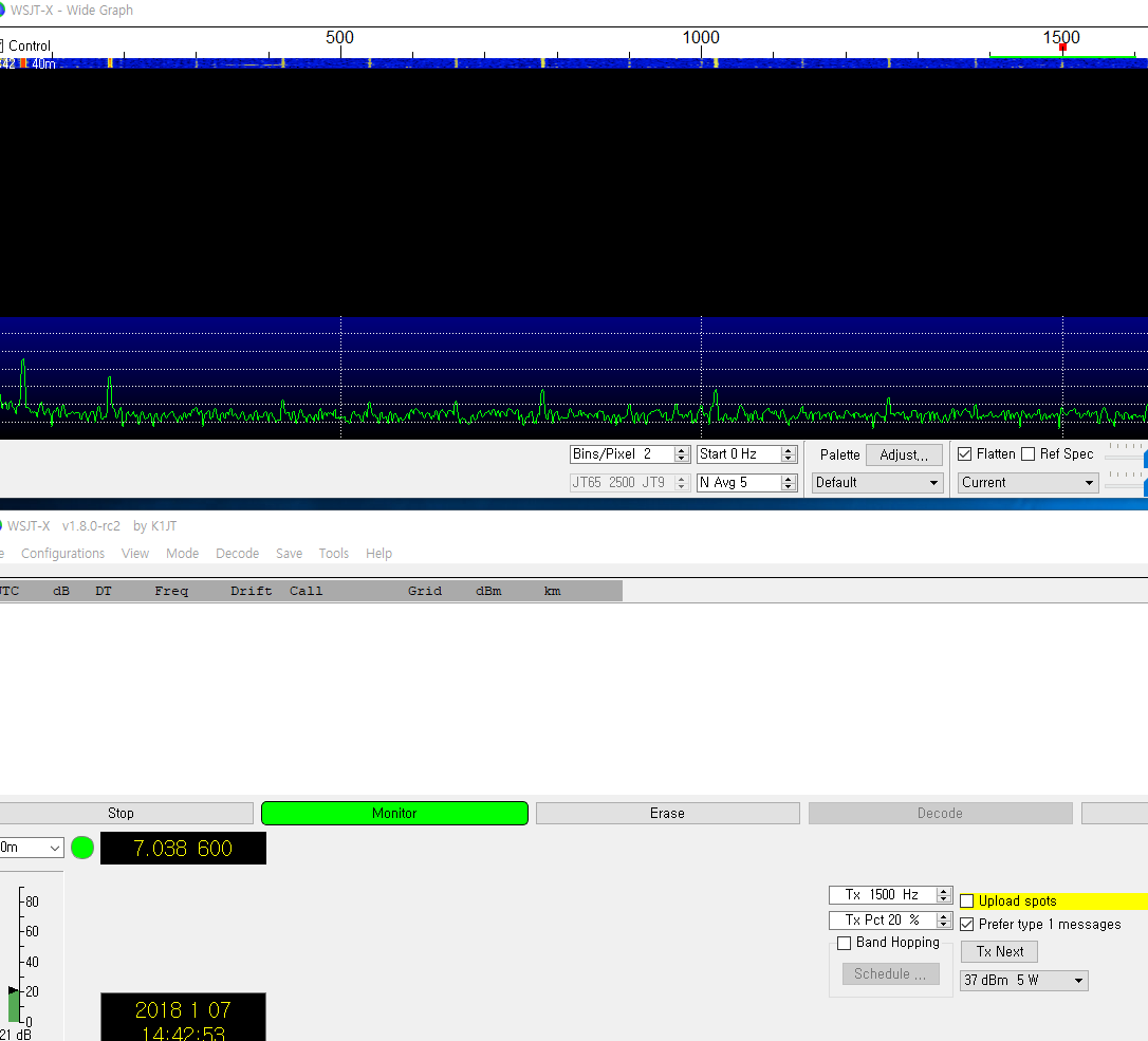 WSPR on Stand alone uBITX without any device