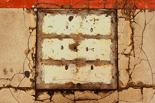 urban photography, cracks, pavement, contemporary photography, urban decay, Sam Freek,