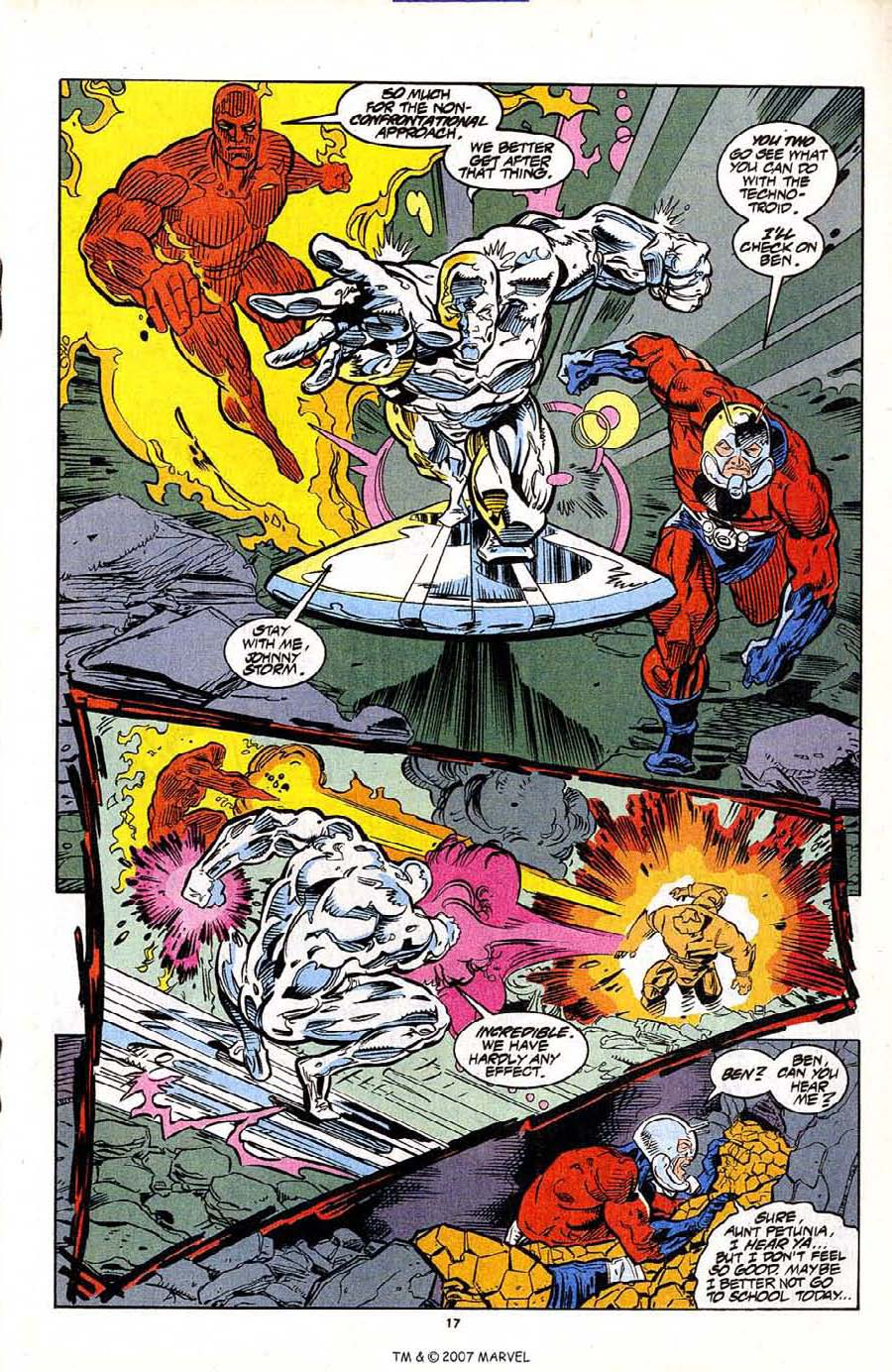 Read online Silver Surfer (1987) comic -  Issue #95 - 19