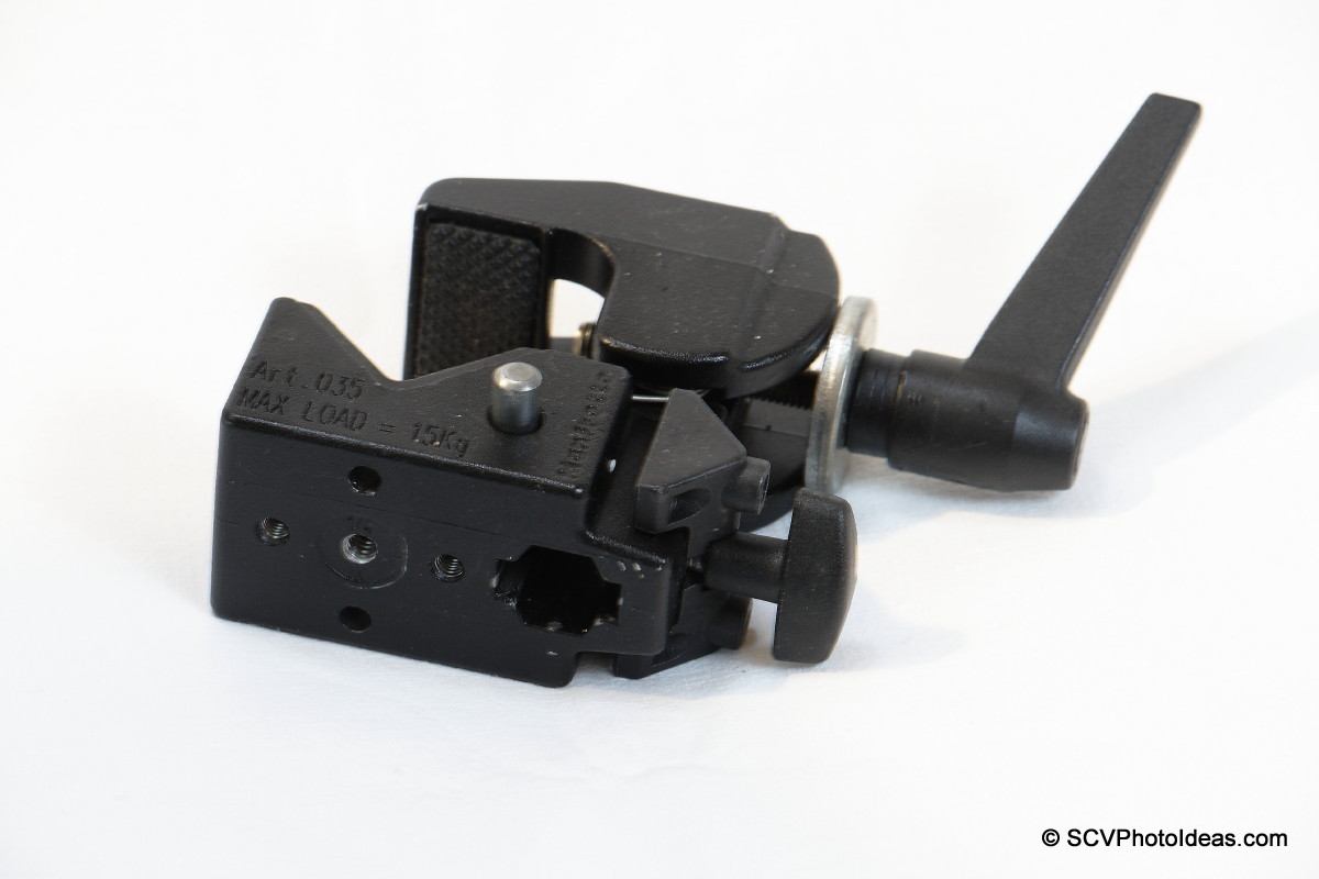 Manfrotto Super Clamp 35 bottom view