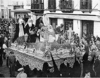Paso de Santa Marta Sevilla