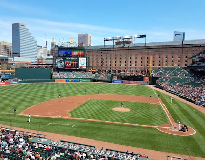 Oriole Park at Camden Yards in Baltimore Maryland