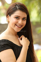 Mannara Chopra in Short Off Shoulder Black Dress ~  Exclusive 030.JPG
