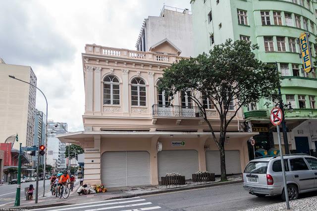 Casa da Família Lustosa restaurada - fachada voltadas para a Rua Barão do Rio Branco