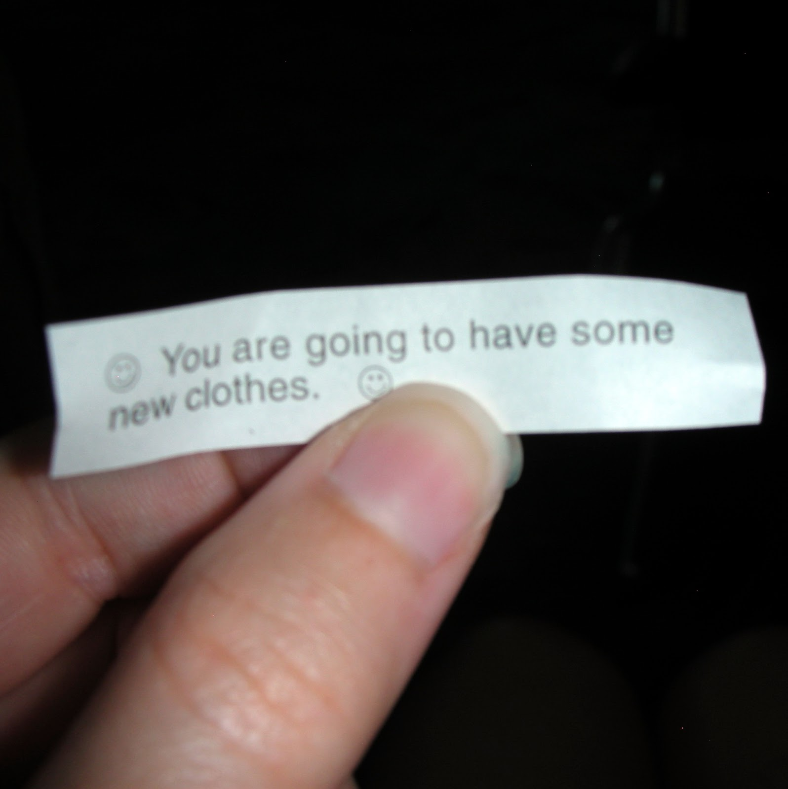 Worst Fortune Cookie Fortune Ever