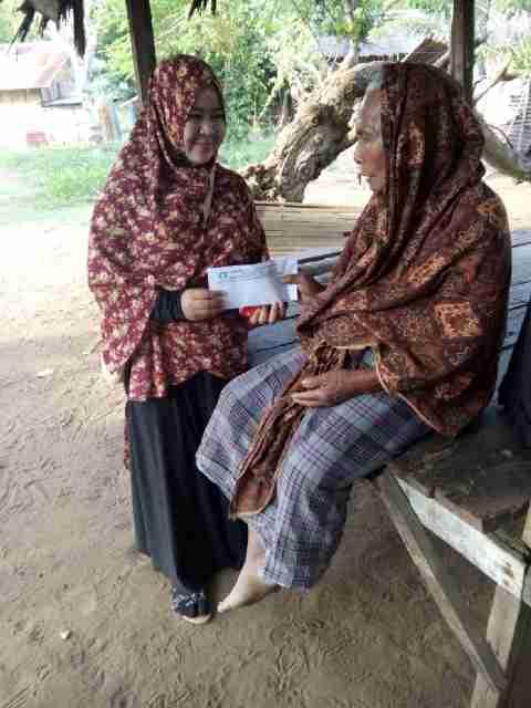 Idul Fitri, DDHK Melalui LPDA santuni anak yatim dan kaum dhuafa di Lhokseumawe
