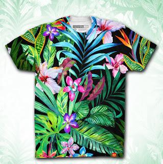 Mẫu đồng phục 3D cho mùa hè sôi động