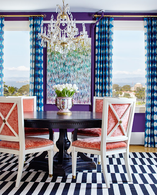 Presidio dining room photographed by Brad Knipstein. Designed by Josef Medellin.