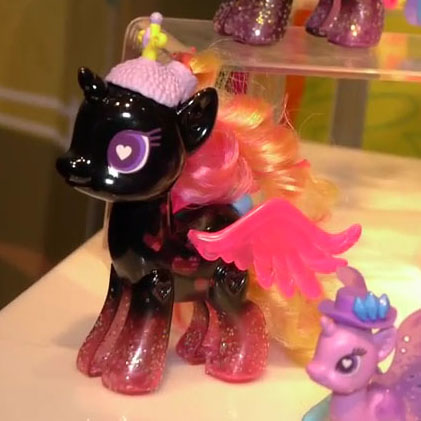 Black Princess Cadance POP Pony at NY Toy Fair 2015