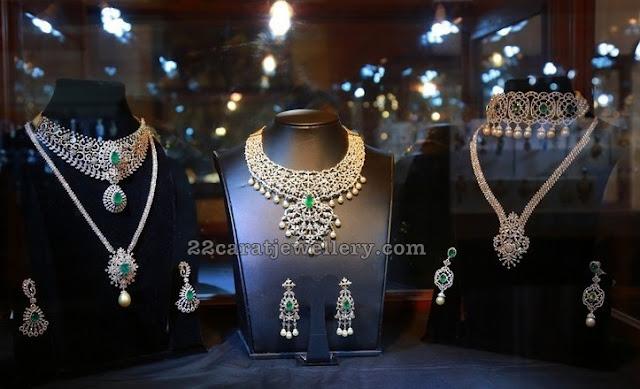 Diamond Sets by Srinadh Jewelelry