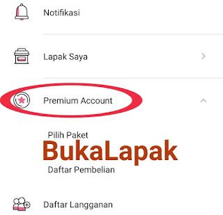 Fitur Premium Account Bukalapak