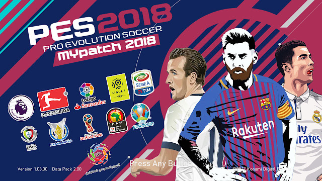 PES 2018 myPatch v1 Released 16-3-2018 By Micano4u