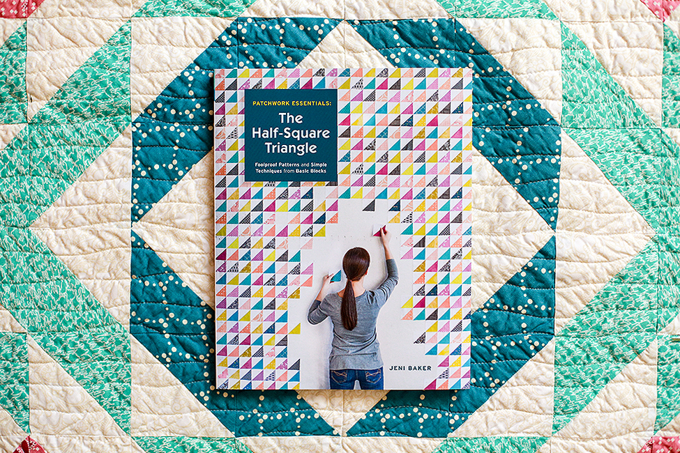http://www.jenibakerpatterns.com/product/patchwork-essentials-the-half-square-triangle-book-signed