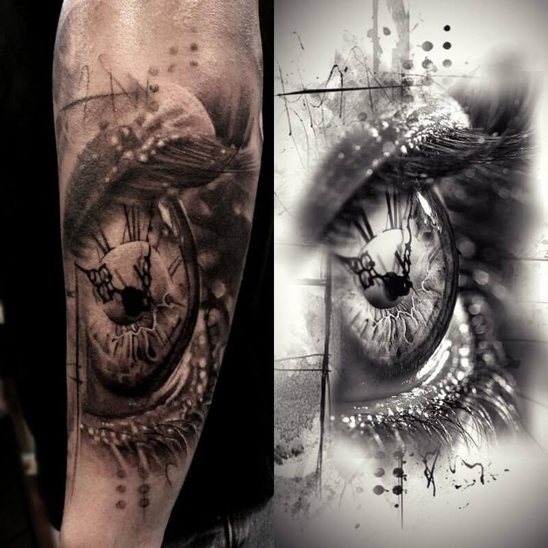 03-Glen-Preece-Paintings-and-tattoos-Side-by-Side-www-designstack-co