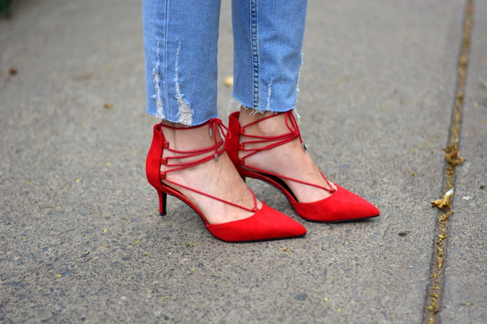 bershka-red-laced-up- shoes-heels