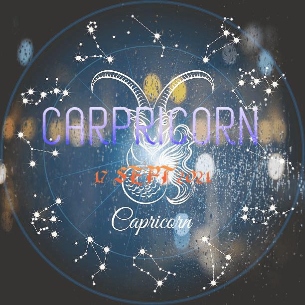 ZODIAK Hari ini CAPRICORN 17 September 2021