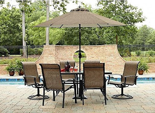 7 Piece Outdoor Waterproof Dining Set