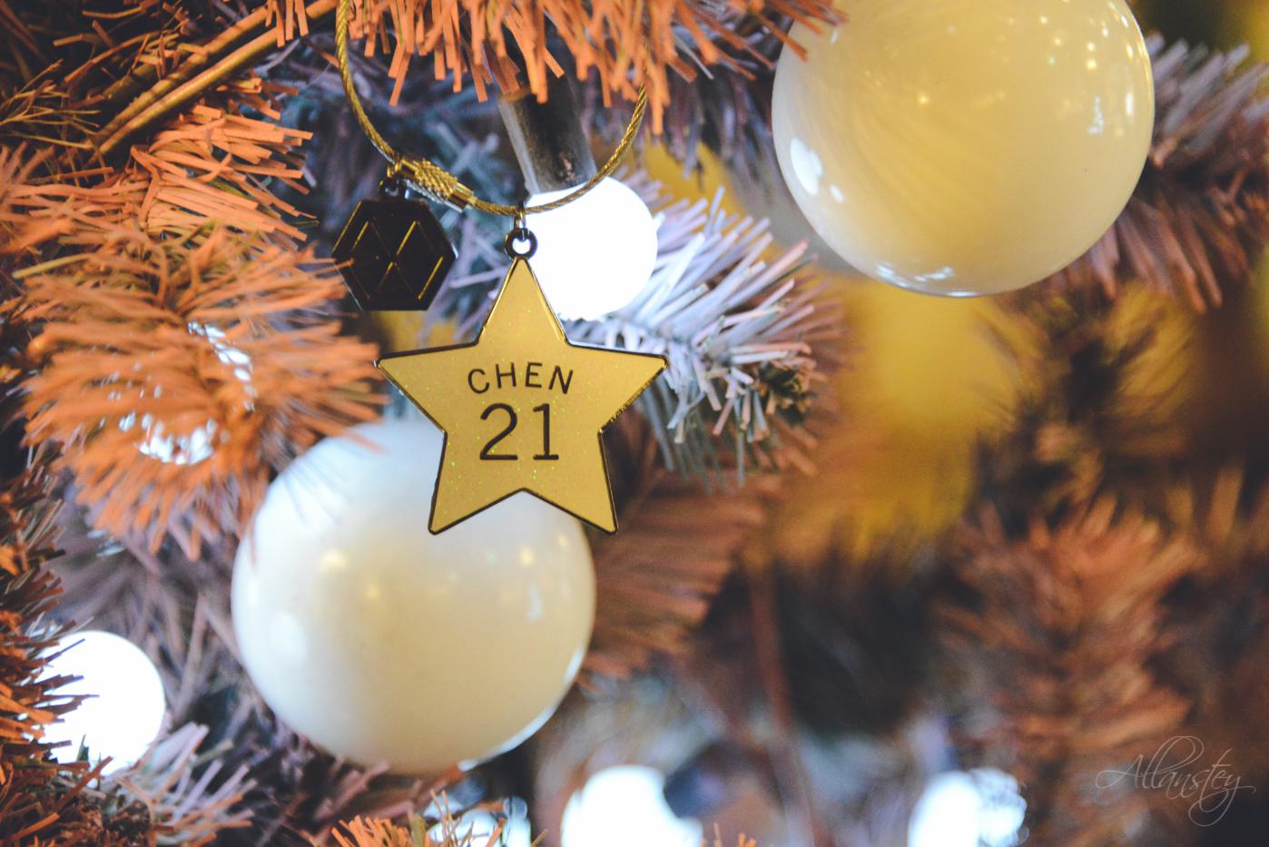 Christmas tree decoration, EXO Chen 21