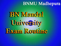 BNMU Exam Routine/Time Table