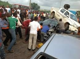 Fatal Car Accident In Kugbo Abuja: Bloodshed As Pepsi Truck Crushed 6 Cars… 3 Killed, 8 Injured. (Graphic Photos)