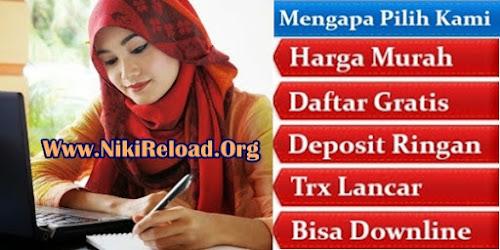 NikiReload.Org Bisnis Agen Pulsa Elektrik Online Termurah