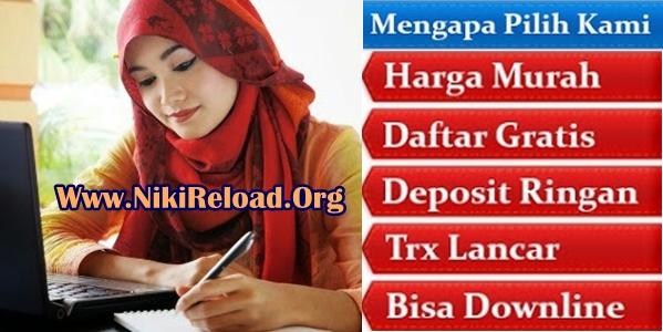 Niki Reload Bisnis Agen Pulsa Elektrik Online Termurah