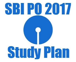 Study Plan for SBI PO 2017
