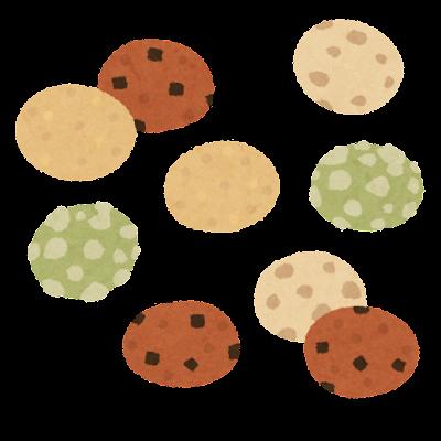 豆菓子のイラスト(ミックス)
