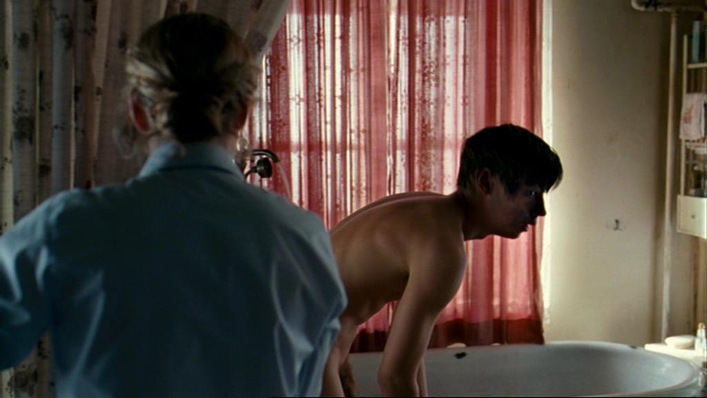 Think, that David kross nude scene