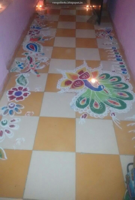 Tamil New Year Rangolis