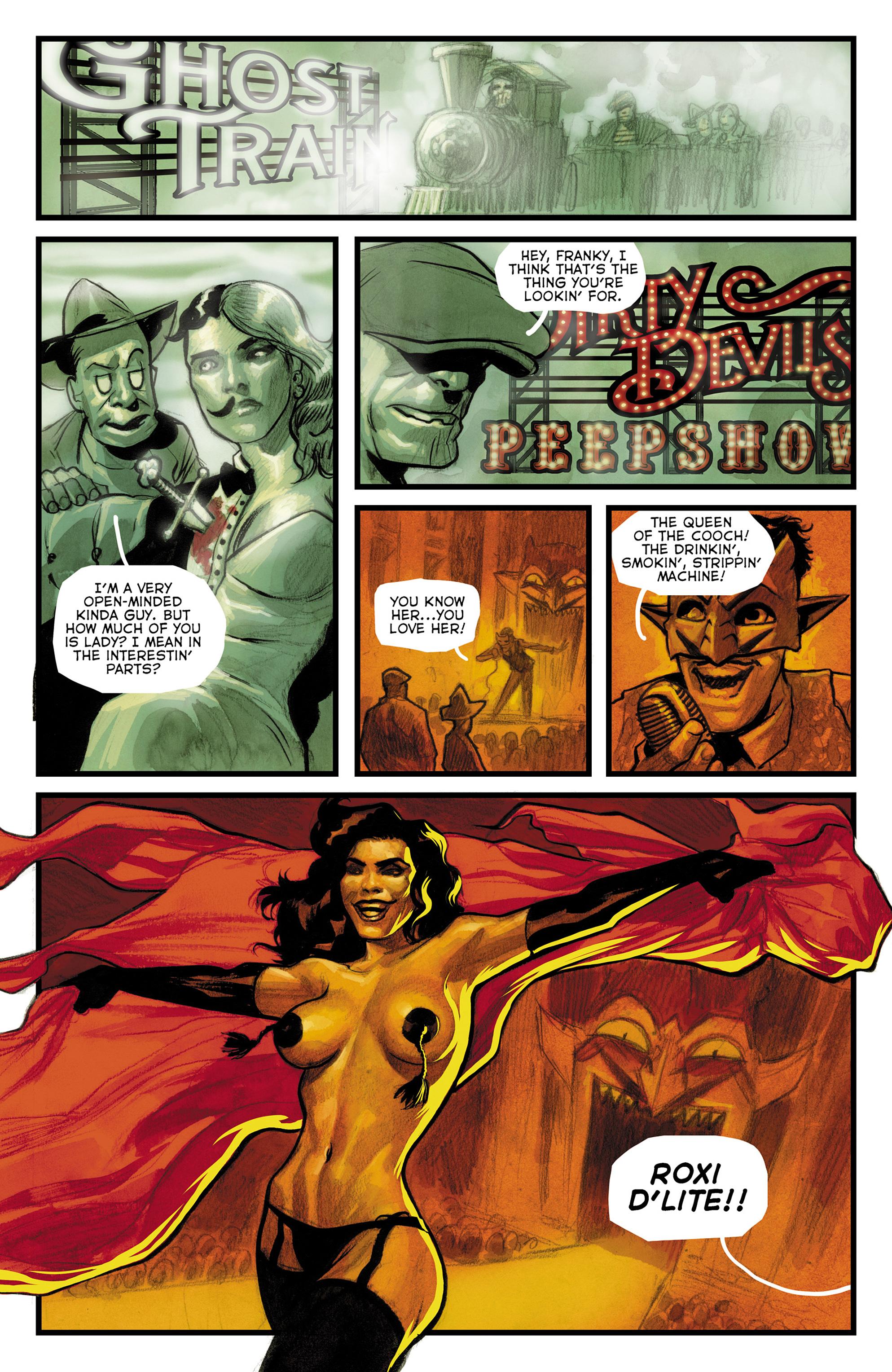 Read online The Goon: Theatre Bizarre comic -  Issue # Full - 16