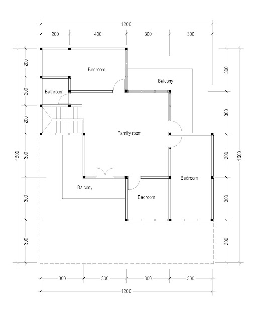2nd Floor Plan for Plan c-29