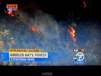 News coverage of Williams Fire 2012