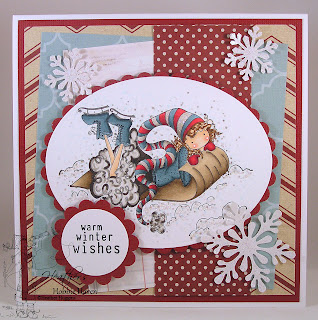 Heather's Hobbie Haven - Winona Loves Winter Card Kit