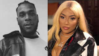 BurnaBoy & British rapper Steff London spark dating rumours in a now deleted post!