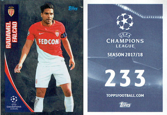 Ljubomir Fejsa Champions League 17//18 SL Benfica Sticker 297