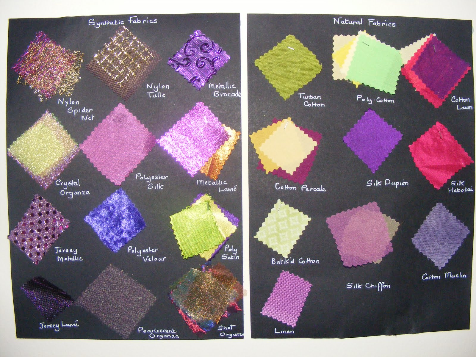 List Of Fabrics That Are Man Made