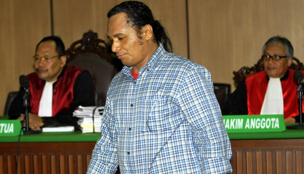 John Kei Tertangkap 17 February 2012, Hotel C'One, Pulomas, Jakarta Timur
