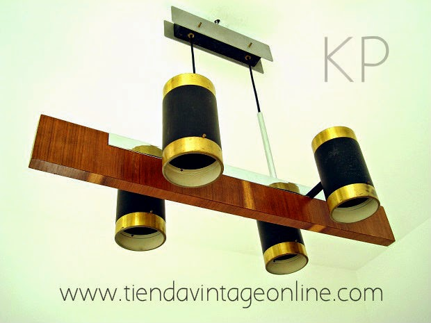 Comprar lámpara vintage antigua. Tienda online de lámparas vintage para decoradores e interioristas