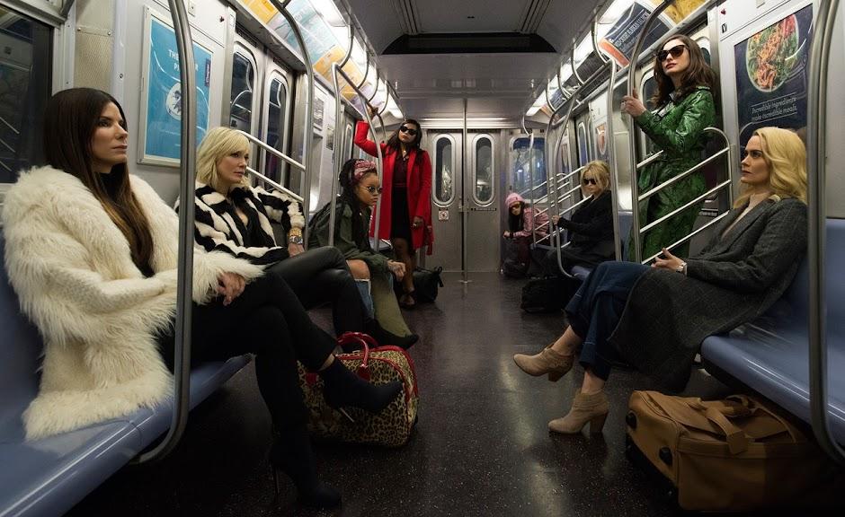 """Revelada a primeira imagem do derivado """"Oito Mulheres e um Segredo"""""""