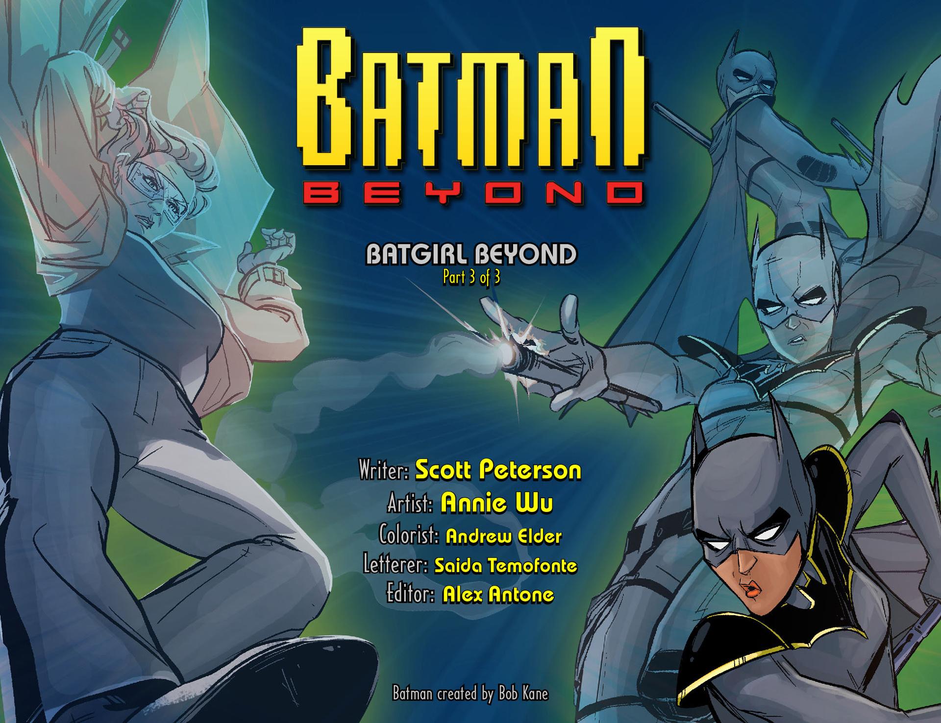 Batman Beyond (2012) 29 Page 1