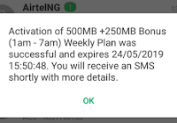 Easiest Method on How to Activate Free 750MB Data On All Networks In Nigeria With Flaim