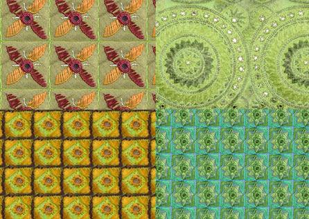20 excelentes texturas de telas