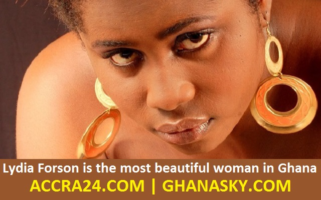Lydia Forson is the most beautiful woman in Ghana