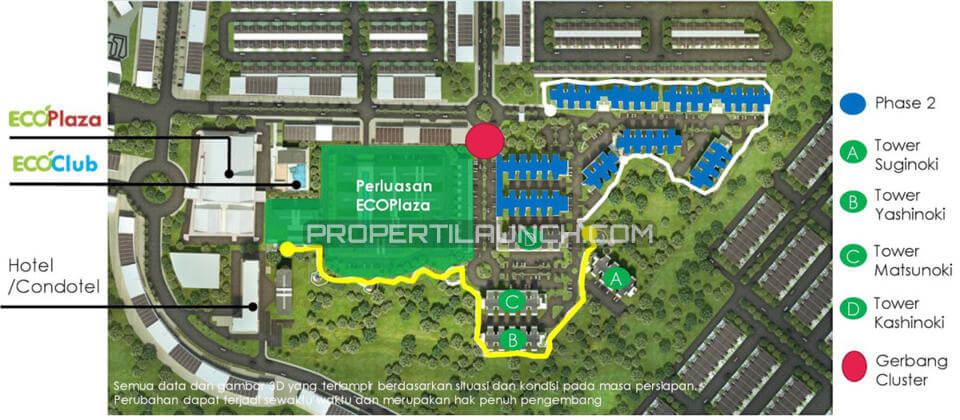Blok Plan EcoHome CitraRaya