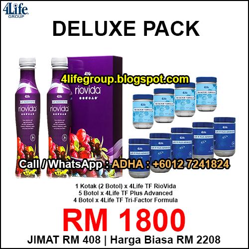 foto Pakej Deluxe 1 - 4Life Malaysia