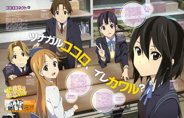 Kokoro Connect BD Batch Episode 1 – 13 Subtitle Indonesia