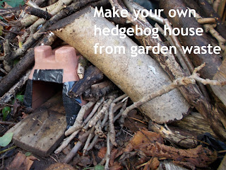 Make a hedgehog house Recycled Green Fingered Blog