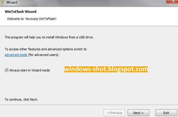 Cara Instal Windows 7 Dengan Flashdisk